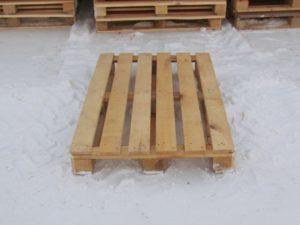 Европоддон деревянный, 6-досок