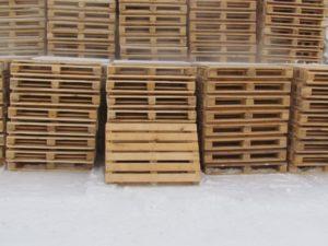 Европоддоны деревянные, 6-досок